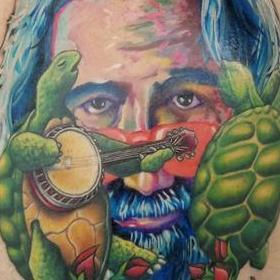 Tattoos - Color Grateful Dead Tattoo - 130057