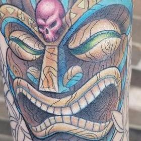 Tattoos - Color Tiki Tattoo - 130030