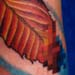 Tattoos - pixelated leaf (detail) - 1302
