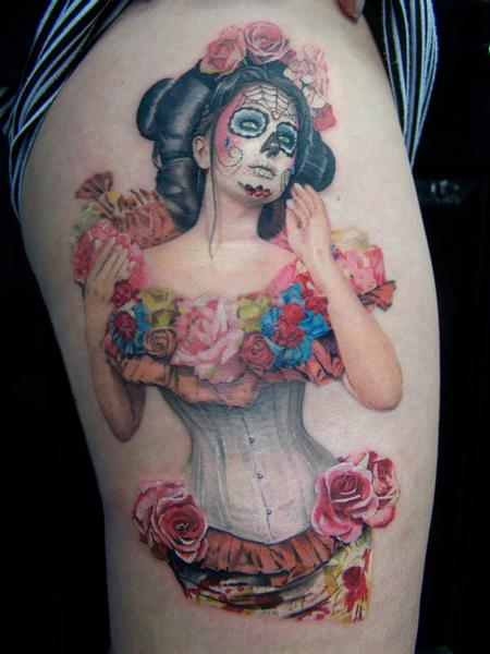 Tattoos - 666 Photography - Spring Muertos - 92174