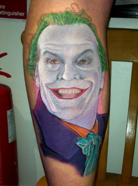 Joker Tattoo Tattoo Design Thumbnail