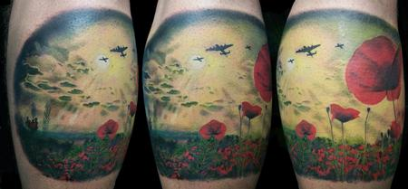 Tattoos - War - Poppy Field - 92175