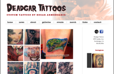 Deadgar Tattoos