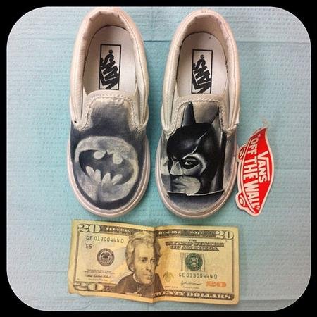 Tattoos - Batman Forever Vans - 78872