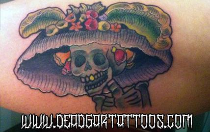 Tattoos - Catrina - 65608