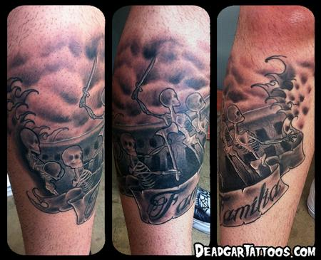 Tattoos - Skeleton Pirates - 70816