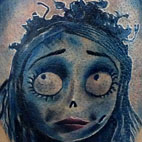 Tattoos - Corpse Bride Tattoo  - 78843