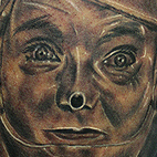 Tattoos - Tin man portrait - 70829