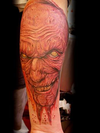 art junkies tattoo studio tattoos big gus zombie. Black Bedroom Furniture Sets. Home Design Ideas