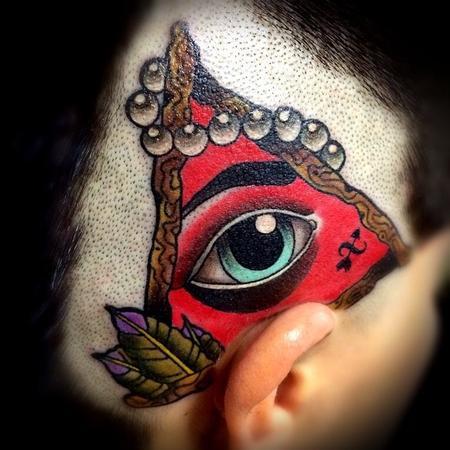 Tattoos - All Seeing Eye Tattoo - 101099
