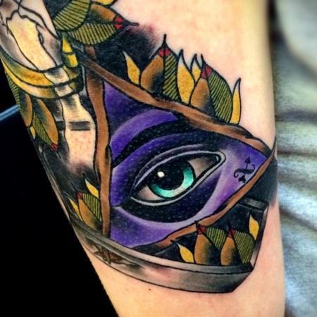 Tattoos - All Seeing Eye Tattoo - 101118