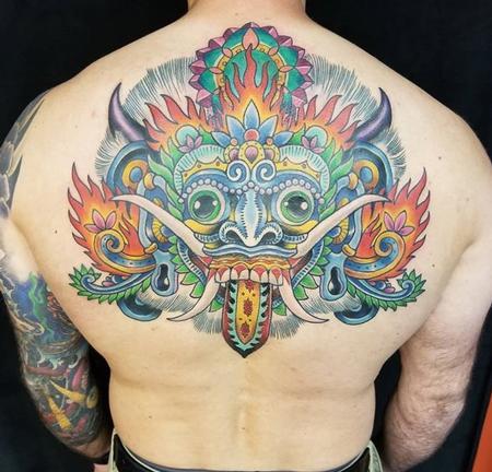 Bali Mask Design Thumbnail