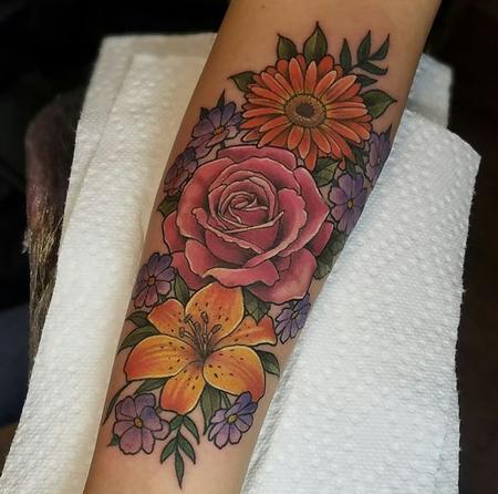 Floral piece Design Thumbnail