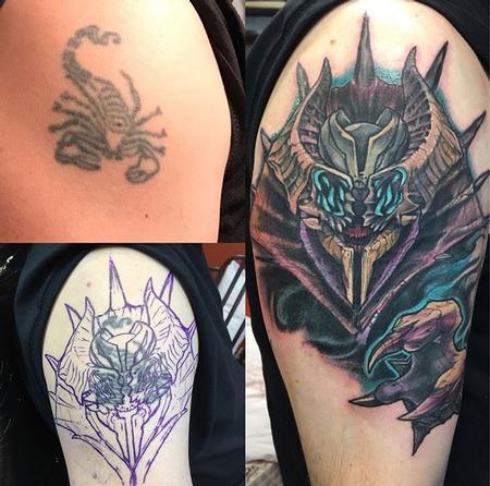 Tattoos - Destiny Boss (Cover up) - 133884