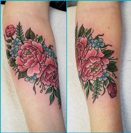 Tattoos - Floral - 132087