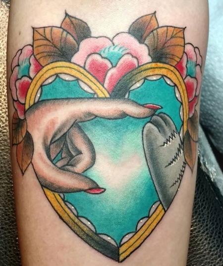Tattoos - Hand & Paw Love - 129482