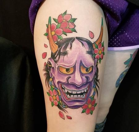Tattoos - Hannya Mask - 132603