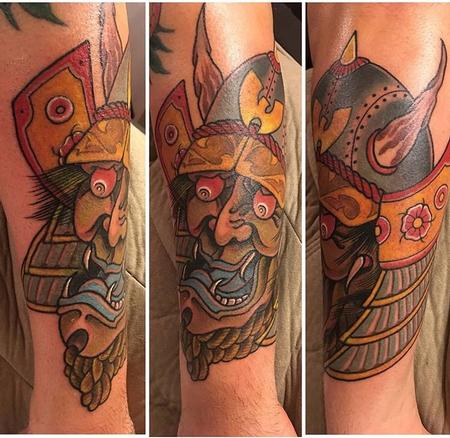 Hannya Samurai Design Thumbnail