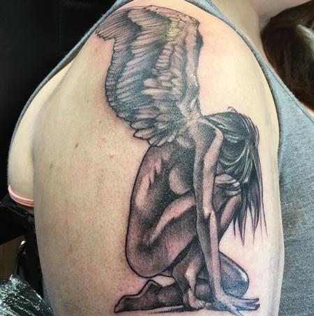 Tattoos - Angel - 132164