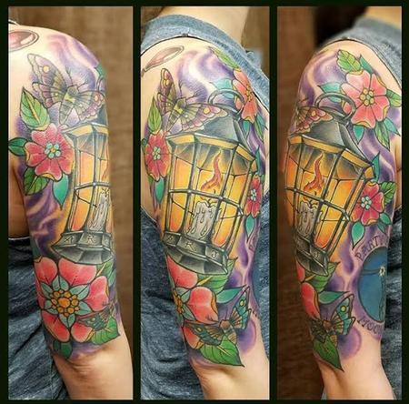 Tattoos - Lantern - 128103