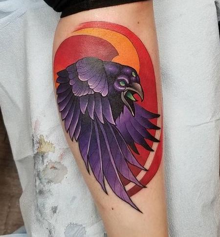 Tattoos - Raven - 130761
