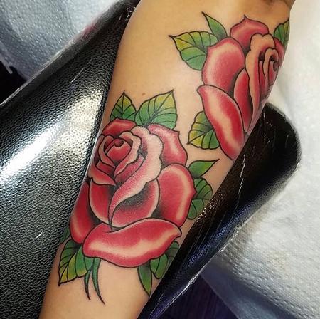 Tattoos - Roses - 132776