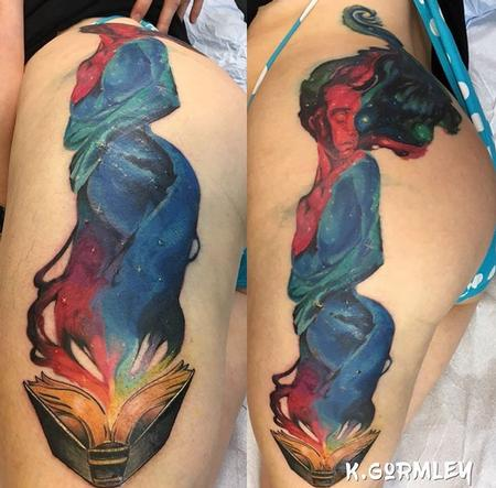 Tattoos - Galaxy Mama - 131786