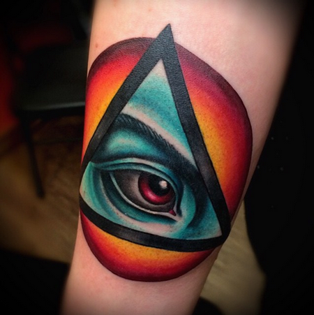 All Seeing Eye Tattoo Tattoo Design Thumbnail