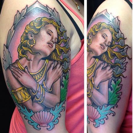 Aphrodite Tattoo Tattoo Design Thumbnail