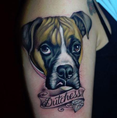 Tattoos - Dog - 125920