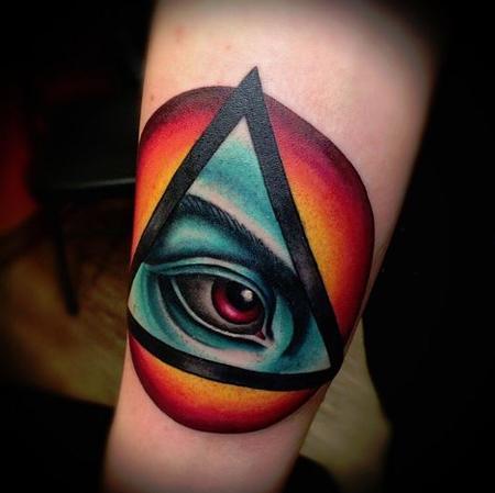 Tattoos - Eye - 125857