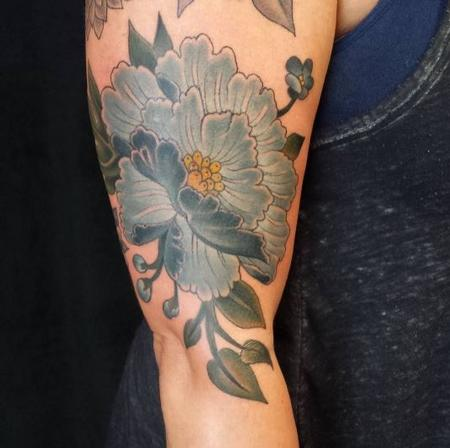 Tattoos - Flower - 125892