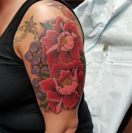 Tattoos - Flowers - 111673