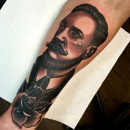 Tattoos - Gentleman Portrait - 111919