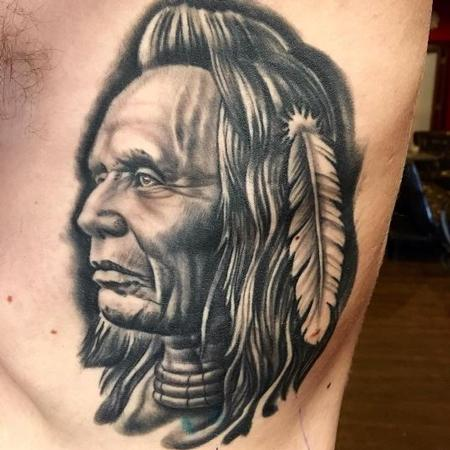 Tattoos - Native American - 125930