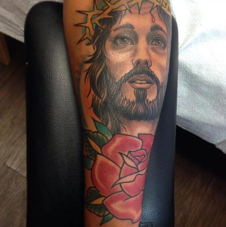 Tattoos - Jesus - 125926