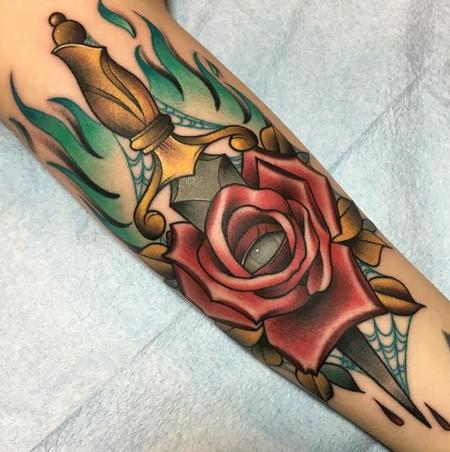 Tattoos - Dagger - 125981