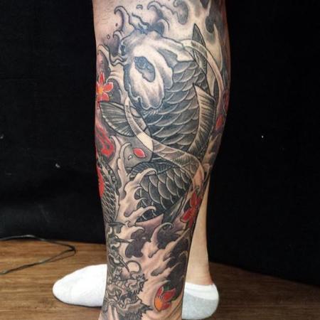 Tattoos - Koi - 125903