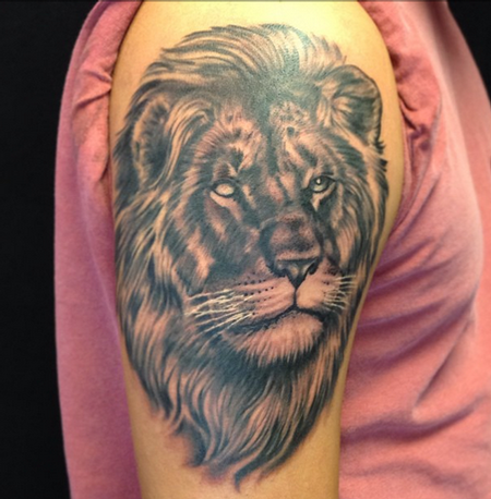 Tattoos - Blind Lion Tattoo - 96181