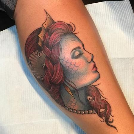 Tattoos - Mermaid - 125973