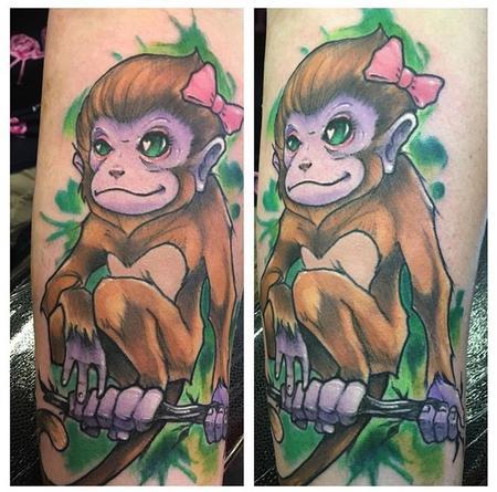 Tattoos - Monkey - 133989