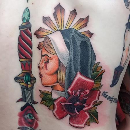 Tattoos - Weeping Nun - 106802