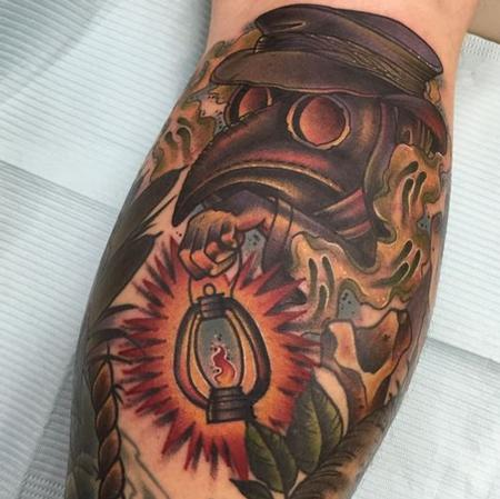 Tattoos - Plague Doctor - 109703