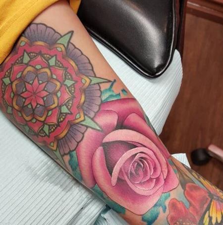 Watercolor Rose Design Thumbnail