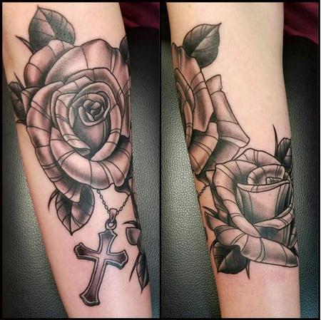 Tattoos - Roses - 125931