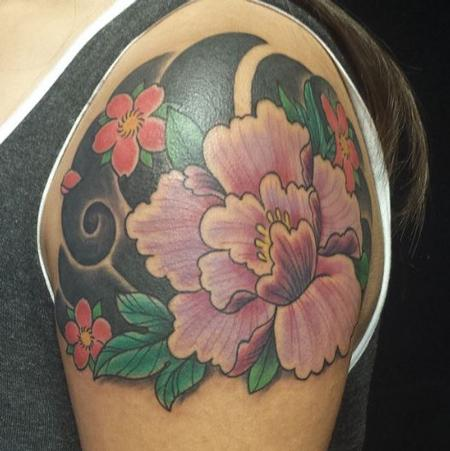 Tattoos - Flowers - 125886