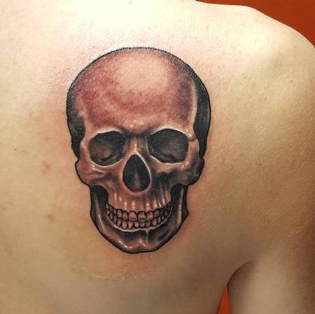 Tattoos - Skull - 125956