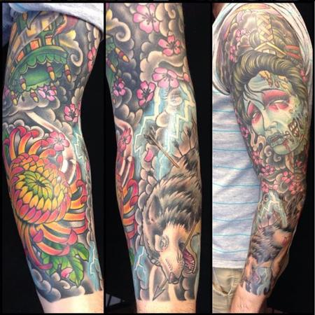 Tattoos - Japanese Sleeve - 125921
