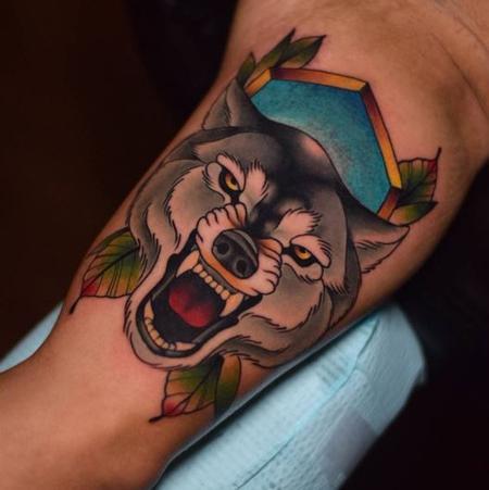 Tattoos - Wolf - 125936