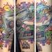 Tattoos - 80's Explosion Tattoo  - 95164